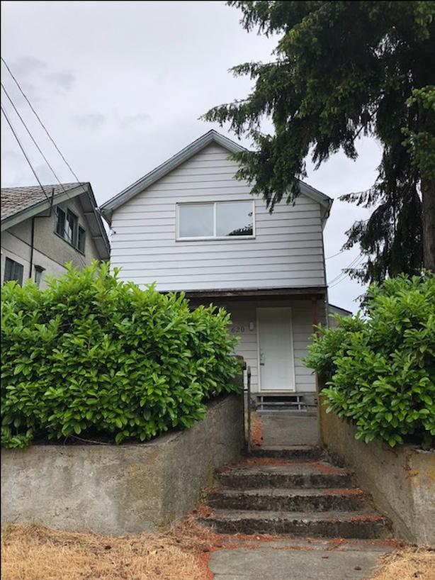 620 A MILTON STREET: New inside! 2 bedroom, 1.5 bathroom single family home.