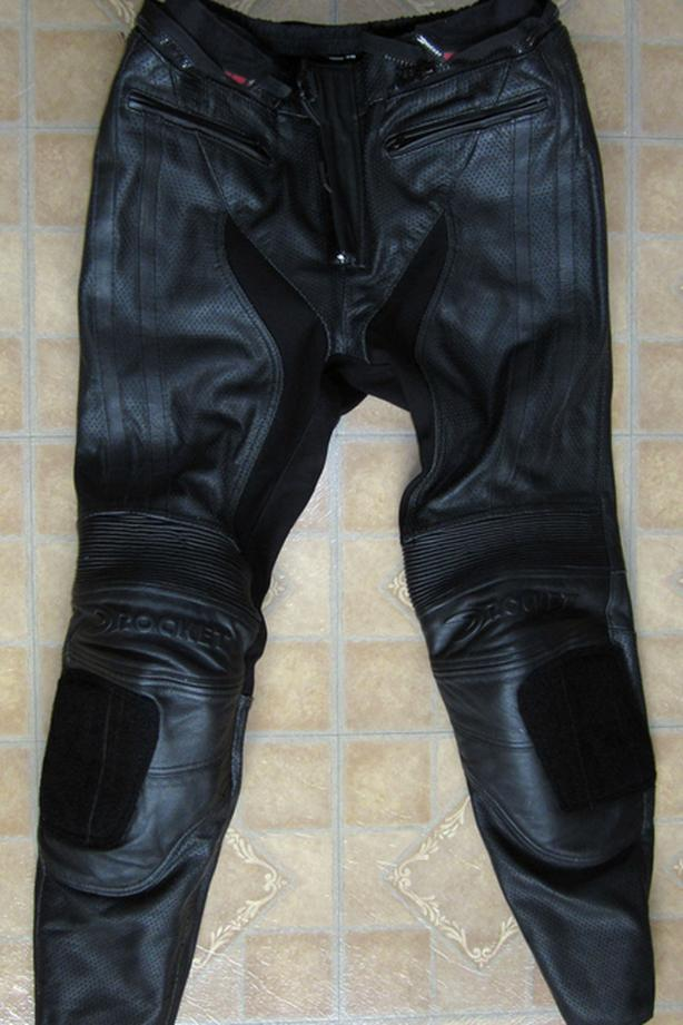 Joe Rocket Leather Riding Pants