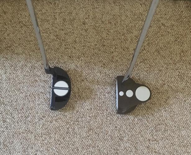 Left Hand Putters - 3 For Sale