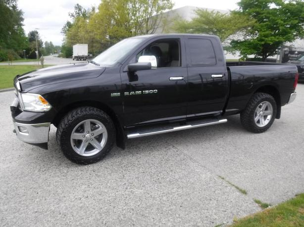 2011 Dodge RAM 1500 SLT Quad Cab 4WD Short Box