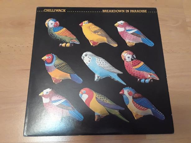 CHILLIWACK BREAKDOWN IN PARADISE LP ALBUM RECORD
