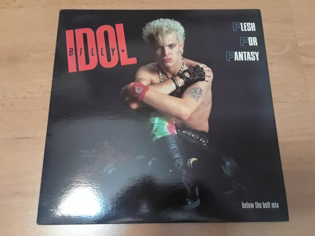 BILLY IDOL FLESH FOR FANTASY LP ALBUM RECORD