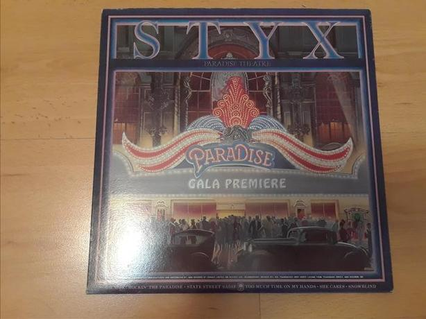 STYX PARADISE LP ALBUM RECORD