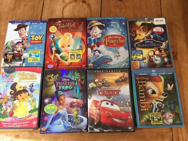 Bundle of Disney DVDs North Nanaimo, Nanaimo
