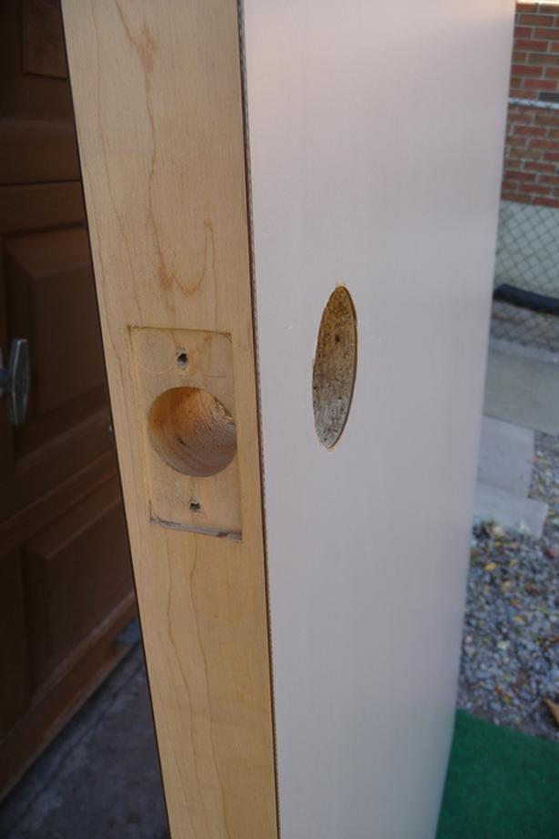 High Pressure Laminate Door