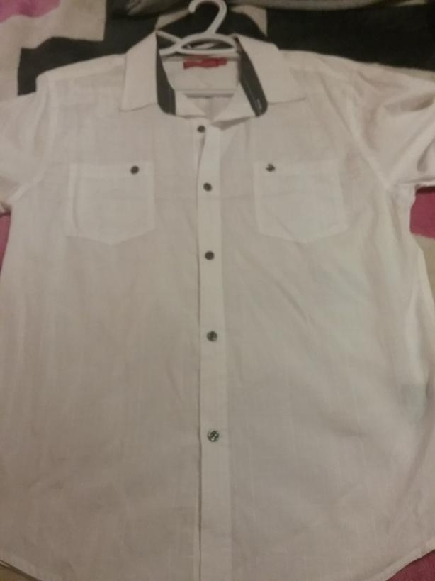 Like new worn once moto gear dress shirt
