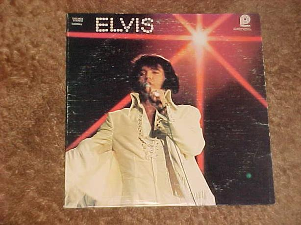 ELVIS YOU'LL NEVER WALK ALONE VINYL LP