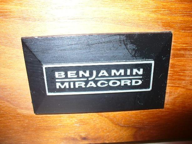 BENJAMIN MIRACORD -  ELAC - TURNTABLE- MADE IN GERMANY