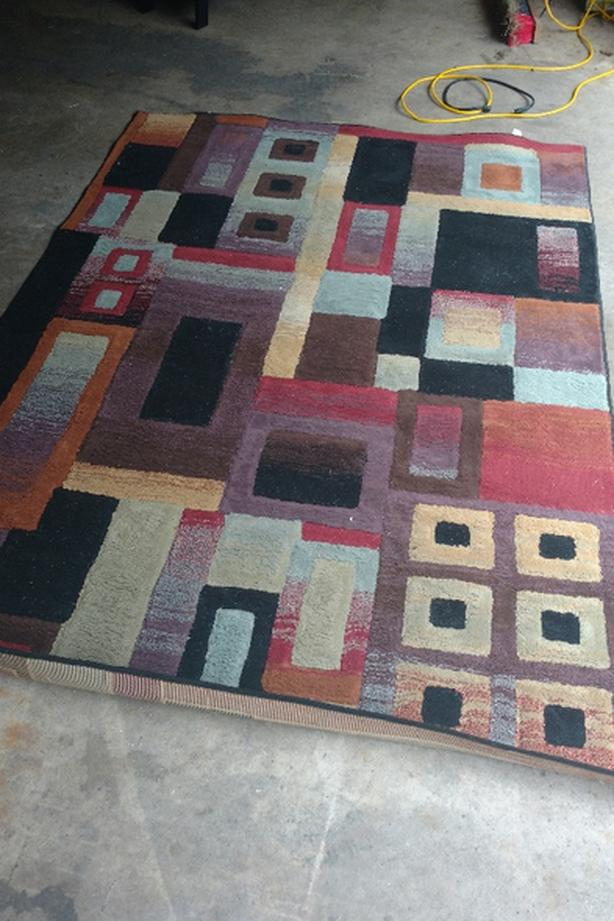 6x8 multi colored rug 150
