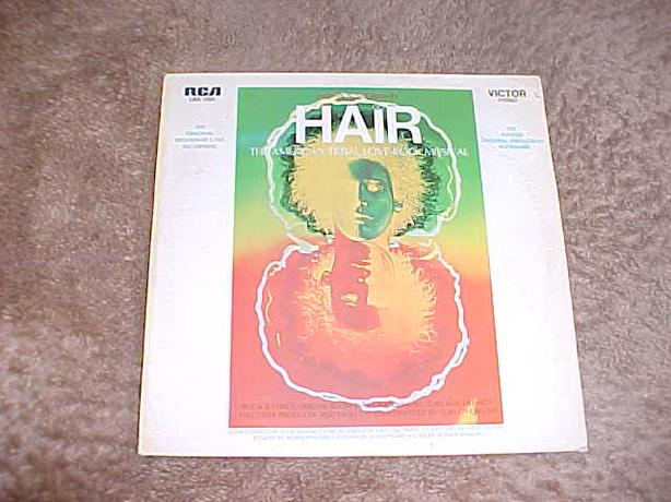 HAIR VINYL RECORD ALBUM