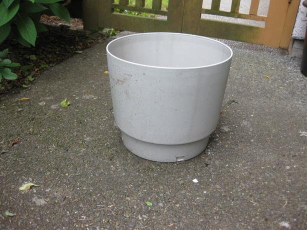 Large plastic pot