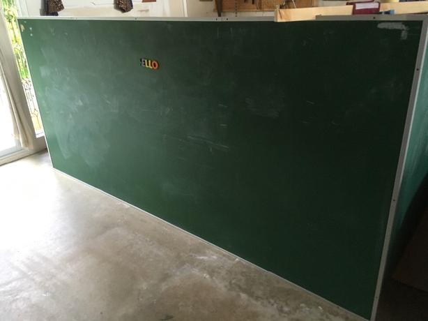 large school chalkboard