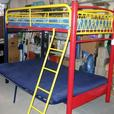 SINGLE OVER DOUBLE BUNK BED