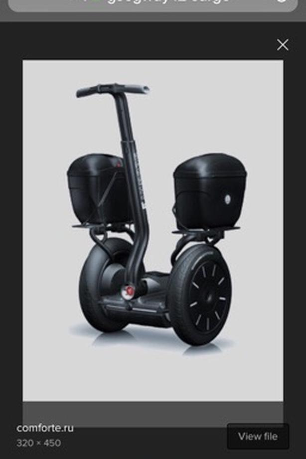 SEGWAY i2 commercial cargo used