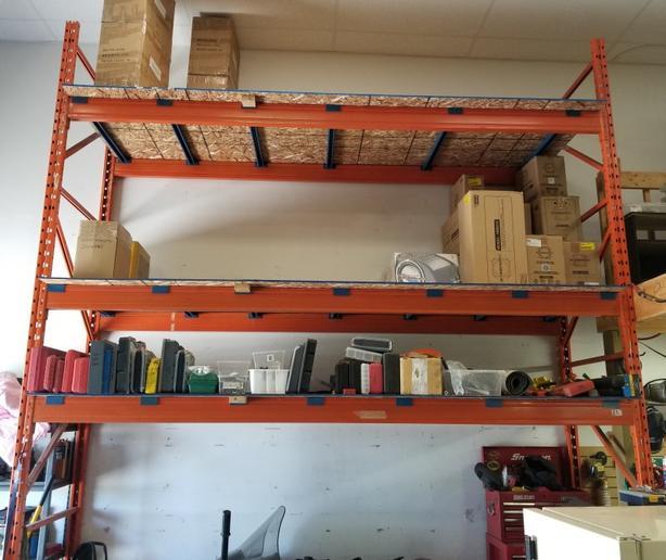Heavy Duty Commercial Shelving Units