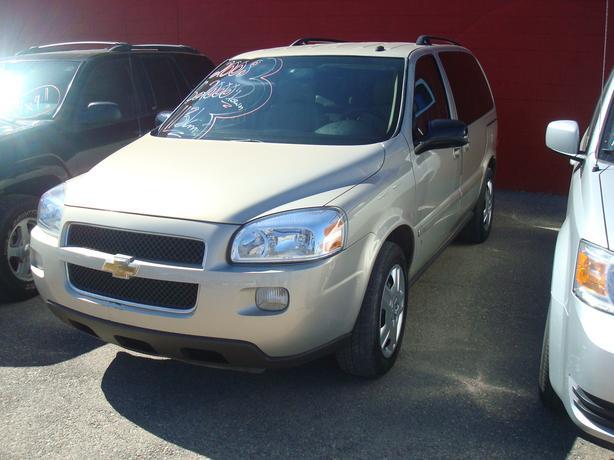 2008 Chevrolet Uplander 113km!