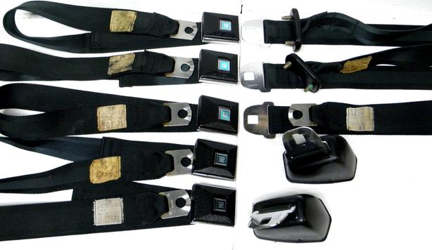 1971 70-72 GM Chevy Chevelle GTO Olds Buick Deluxe Seat Shoulder Belts
