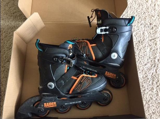 Used Raider adjustable Inline skates