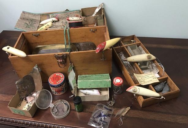 WANTED: VINTAGE FISHING TACKLE