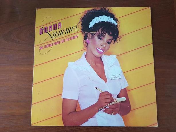 Donna Summer-She Works Hard for the Money  - vinyl