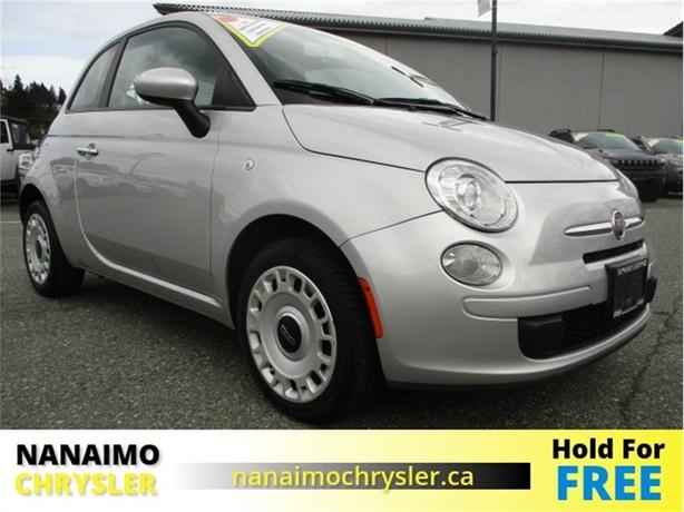 2012 FIAT 500 Pop No Accidents Low Kilometers