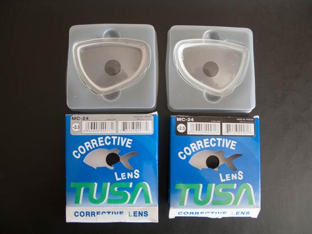 Tusa Powerview Mask Lenses