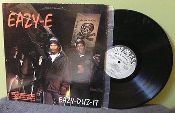 Eazy-e Eazy-duz-it 1st press priority records