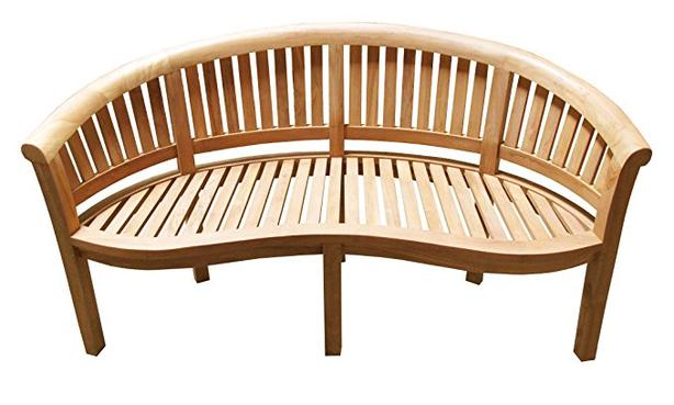 Teak Bench - Solid - Stored Indoors - Like New