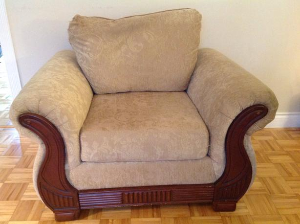 FREE: Loveseat & Chair