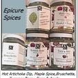 Epicure Spices (open - almost full) $6 each or $45 for all