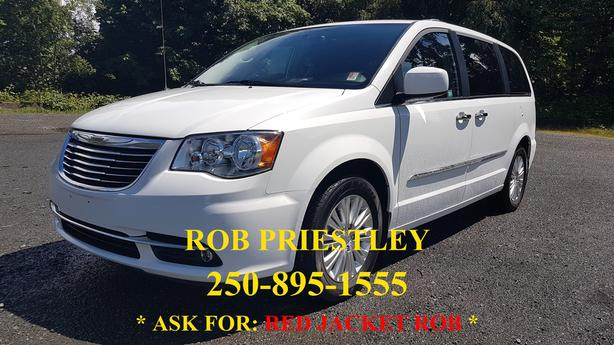2015 CHRYSLER TOWN AND COUNTRY LIMITED * RED JACKET ROB *