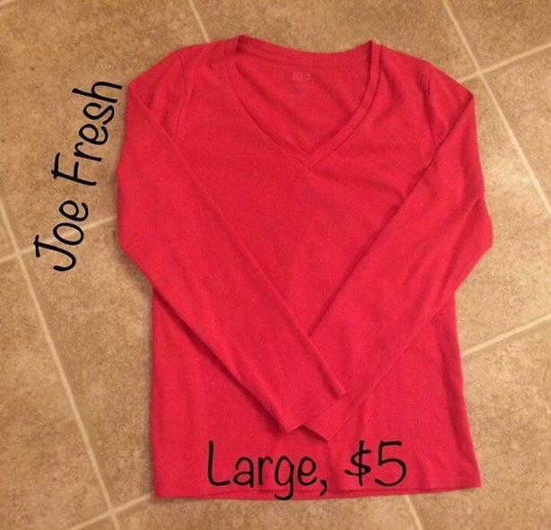 Womens Joe Fresh Long Sleeve Shirt