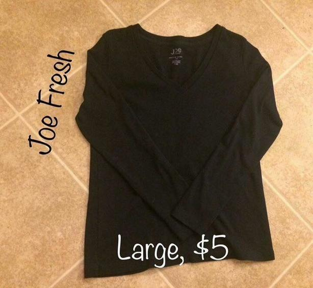 Womens Joe Fresh Long Sleeve Shirt