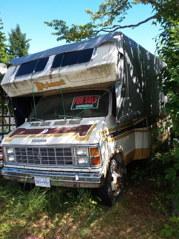  Log In needed $3,000 · 79 Dodge Class C motorhome 24foot