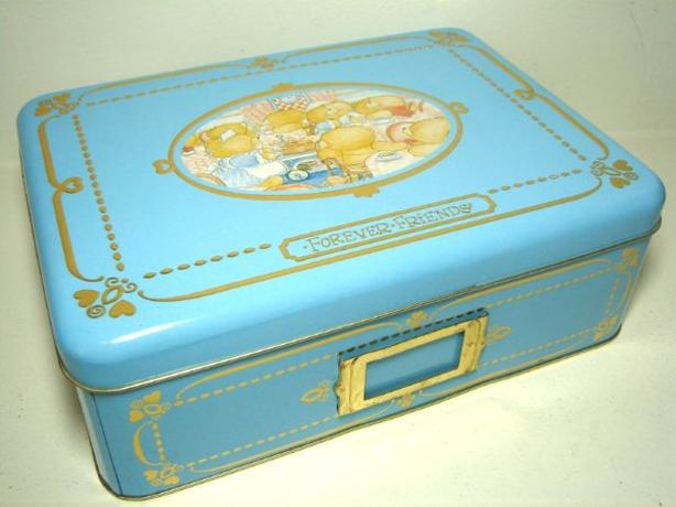 Forever Friends Metal Tin Storage Box