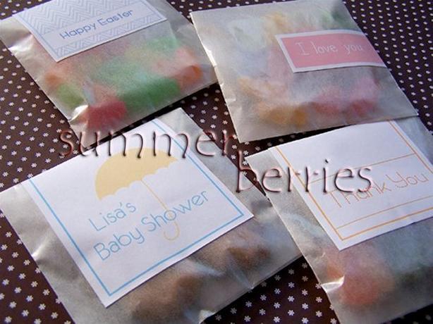 """Glassine Favor Bag - 3.25""""x4.75"""" (Set of 330)"""