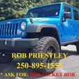 2015 JEEP WRANGLER UNLIMITED RUBICON 4X4 * RED JACKET ROB *