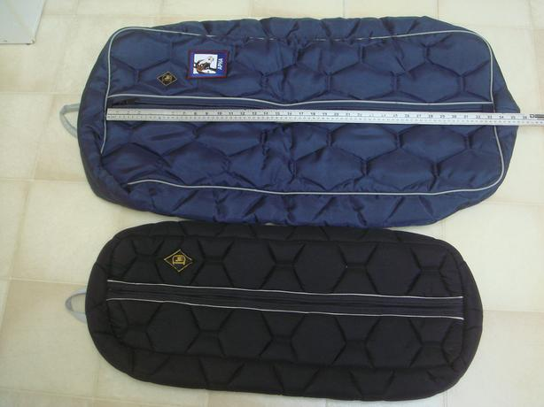 Two Big D bridle bags