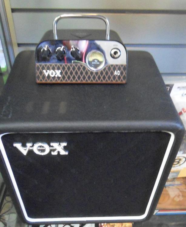 Vox MV 50 Mini Tube Amp and Cabinet