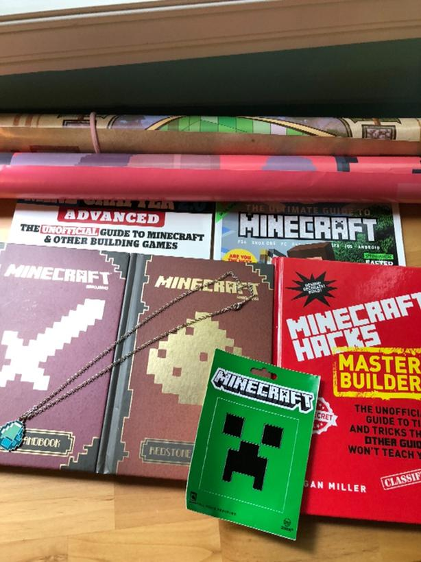 Minecraft Books and Poster