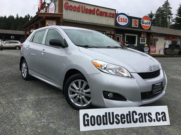2009 Toyota Matrix Only 97,000 KM with Alloys, A/C, Fog Lights & More