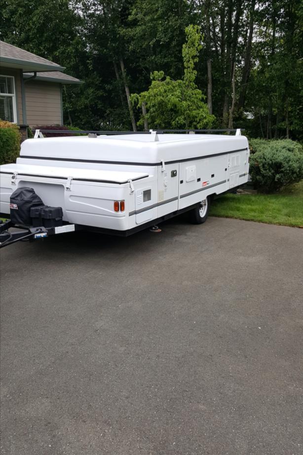 2000 Coleman Utah tent trailer for sale