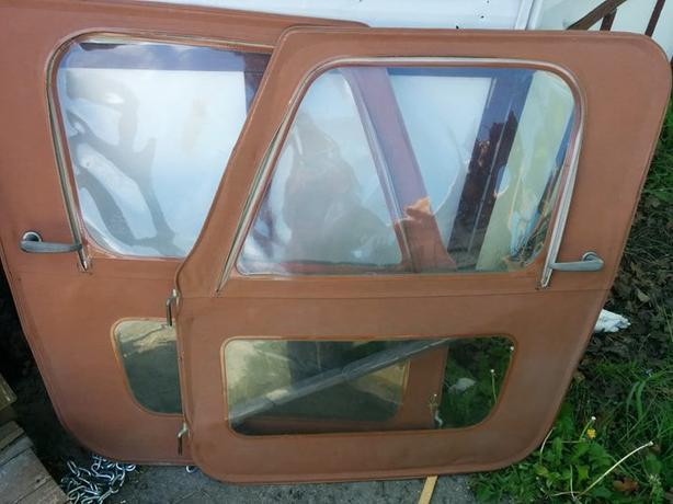 REDUCED - Jeep CJ Soft topCanvas Doors