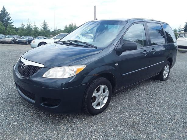 2004 Mazda MPV, 6 cylinder FWD with 292k km's!