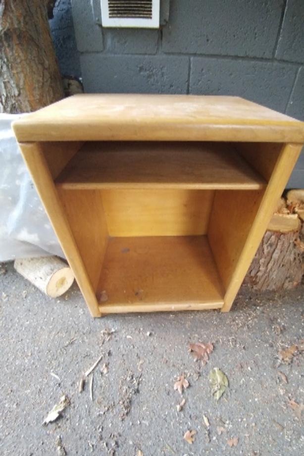 FREE: Wood Storage Shelving Unit