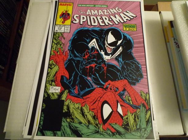 "Amazing Spider-Man #316 11x17"" Art Print Poster"