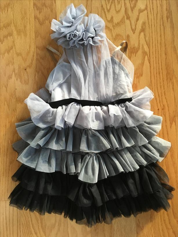 Grey dance/dress-up dress