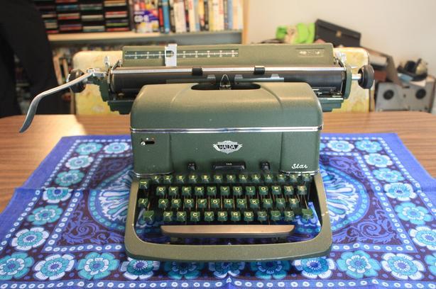 Halda Star 7 typewriter
