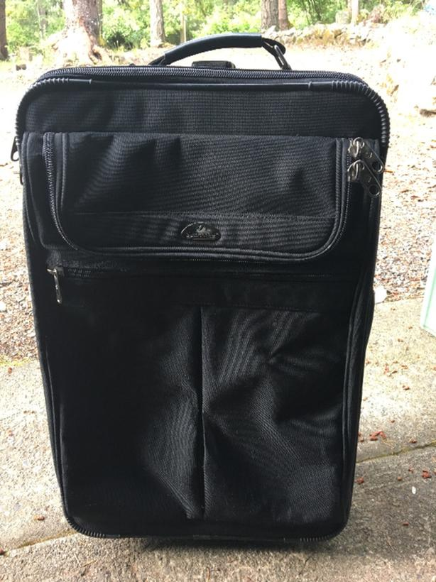 FREE: rolling suitcase