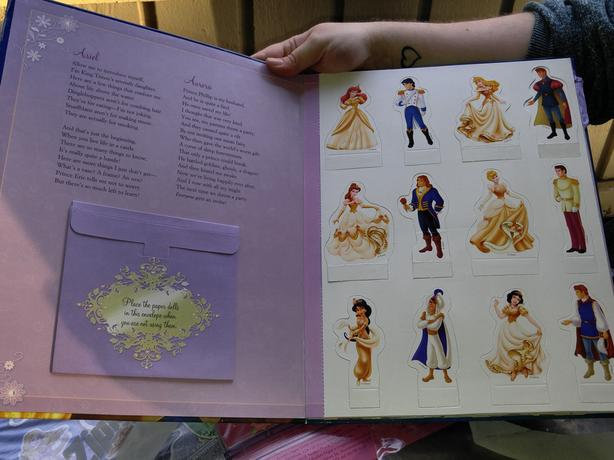 pop up castle and magnetic princess books